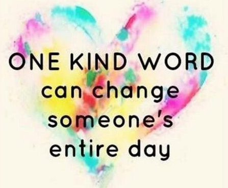 One Kind Word